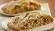 Chicken Primavera Crescent Braid Recipe