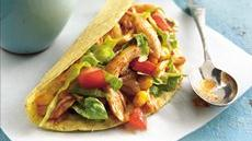 Slow Cooker Chile-Chicken Tacos Recipe