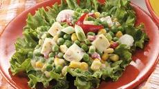 Crunchy Corn and Pea Salad Recipe