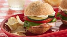 Garden Party Turkey Sandwiches Recipe