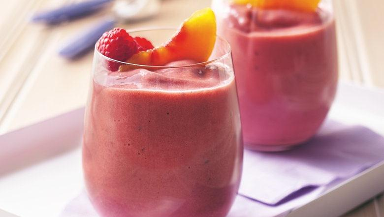 Berry Peach Smoothies