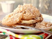 Cinnamon-Swirl Apple Flapjacks