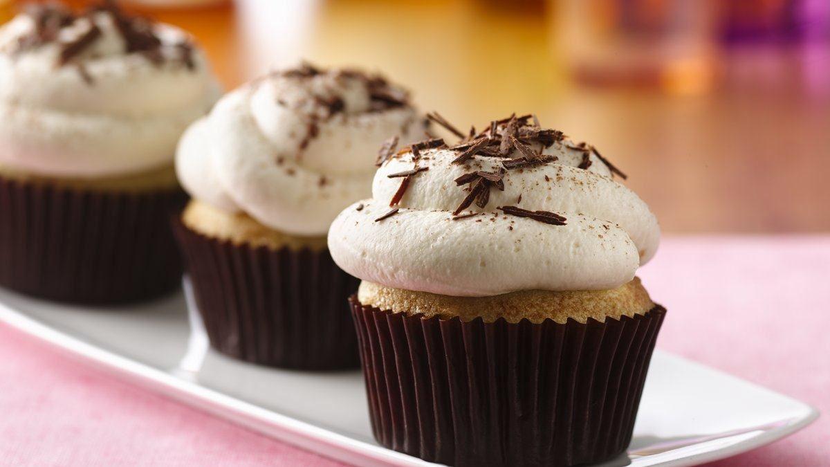 Tiramisu Cupcakes (Gluten Free) - Life Made Delicious