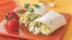 Mexican Egg Salad Wraps Recipe