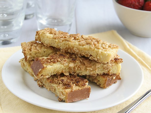 Cinnamon Toast Crunch French Toast Fingers