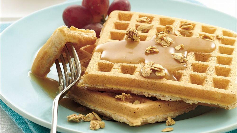 Whole Wheat Waffles with