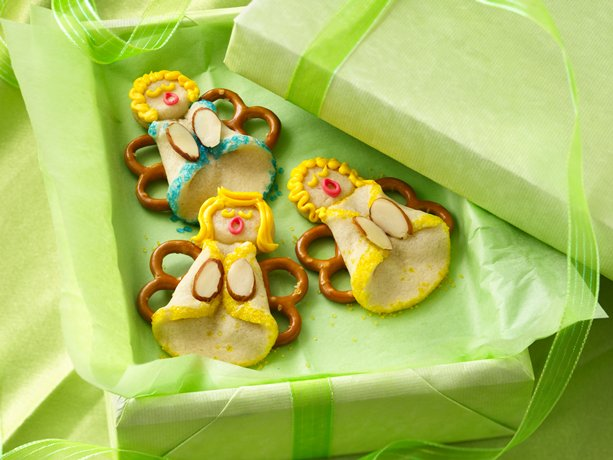 Image of Almond Angel Cookies, Betty Crocker