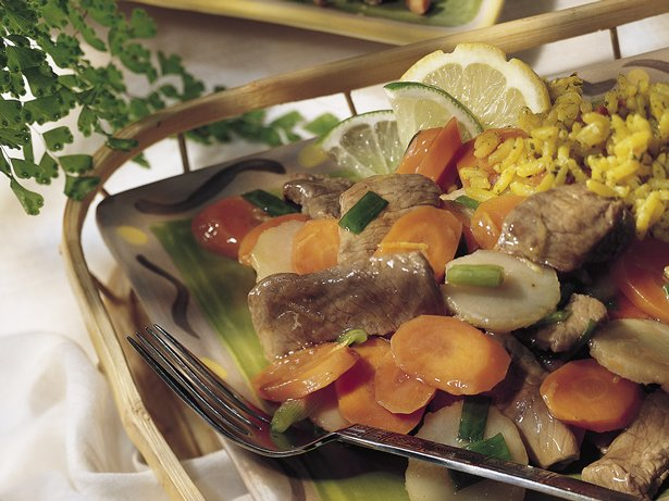 Thai Beef Stir-Fry (lighter recipe) 