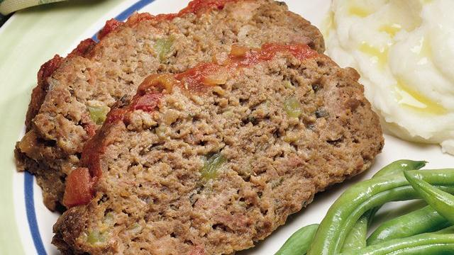 Sweet and Salsy Meat Loaf