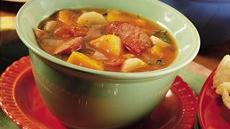 Winter Root and Sausage Casserole Recipe