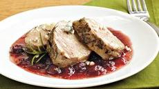 Pork with Cranberry-Port Sauce Recipe