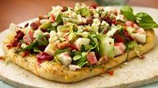 Italian Chopped Salad Pizzas Recipe