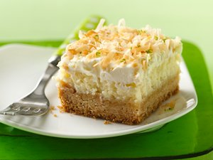 &quot;Lime&#32;in&#32;the&#32;Coconut&quot;&#32;Frosted&#32;Cheesecake&#32;Bars