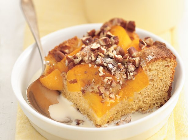 Peach-Pecan Cobbler