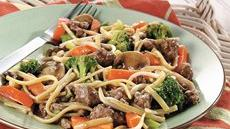 Ground Beef Lo Mein Recipe