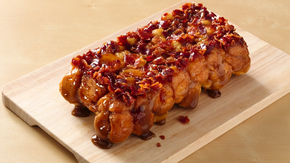 Maple Bacon Monkey Bread (Crowd Size) recipe from Pillsbury.com