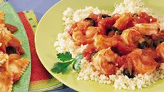 Fresh Shrimp with Couscous Recipe