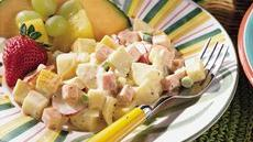 Ham, Cheese and Potato Salad Recipe