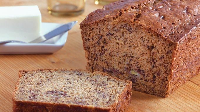 Peanut Butter Banana Bread recipe - from Tablespoon!