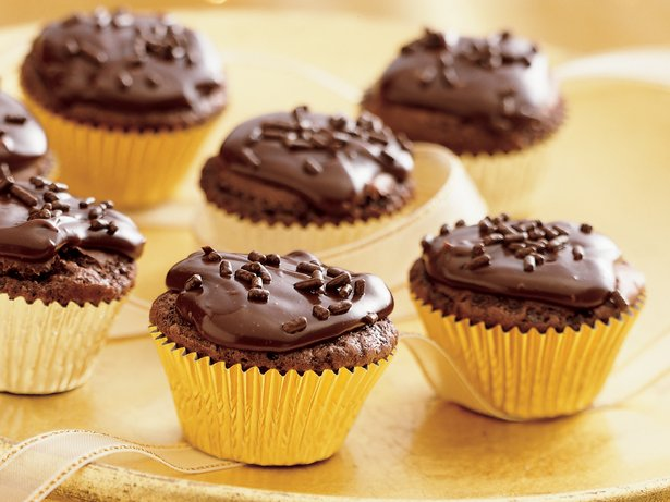Chocolate Truffle Brownie Cups recipe from Betty Crocker