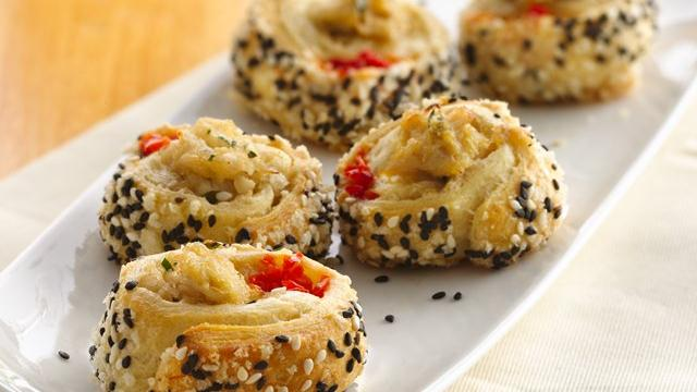 Sushi-Style Crescent Crab Rolls