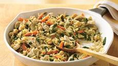 Spicy Chicken and Orzo Skillet Recipe