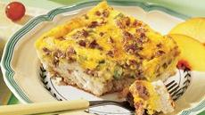 Biscuit Sausage Quiche Recipe