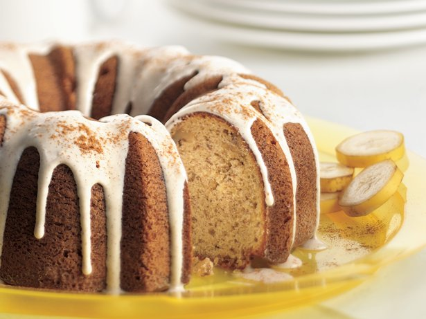 Banana-Cinnamon Cake