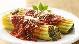 Turkey and Spinach Manicotti