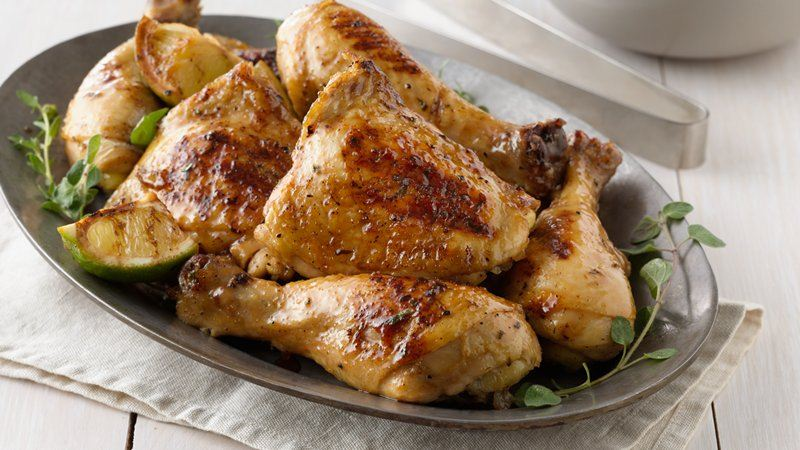 Grilled Three-Herb Chicken