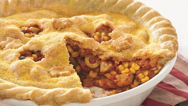 Pork Picadillo Pie