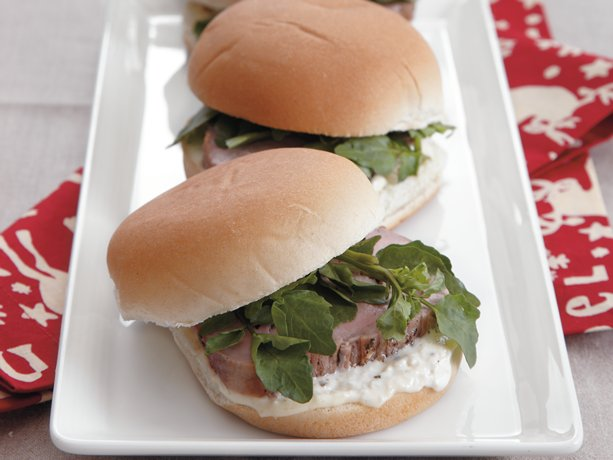 Rosemary Pork Sliders
