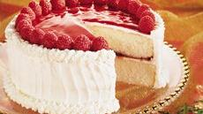 Raspberry Mirror Cake Recipe