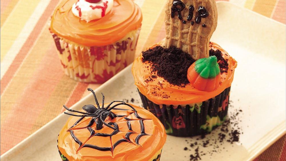Page error from Halloween cupcakes