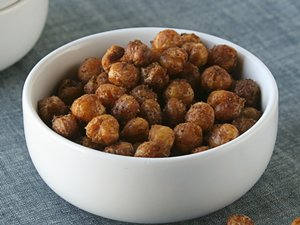 Spiced Baked Chickpeas