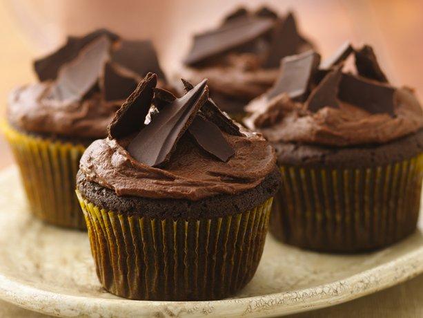 Azteca Chile-Chocolate Cupcakes