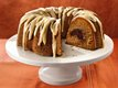 Pumpkin Truffle Pound Cake with Browned Butter Icing