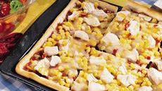 Dorothy´s Kansas-Style Barbecued Chicken Pizza Recipe