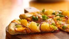 Canadian Bacon and Pineapple Pizza Recipe