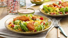 Chicken Nugget Taco Salads Recipe