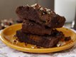Nutty Pumpkin Brownies