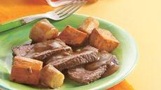 Pot Roast with Sweet Potatoes and Parsnips Recipe