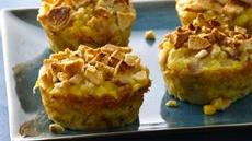 Impossibly Easy Mini Turkey and Corn Pies with Baguette Chips Recipe