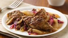 German Red Cabbage and Pork Ribs Recipe