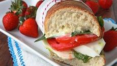 Caprese Arugula Pesto Sandwiches with Lemon Aioli Recipe