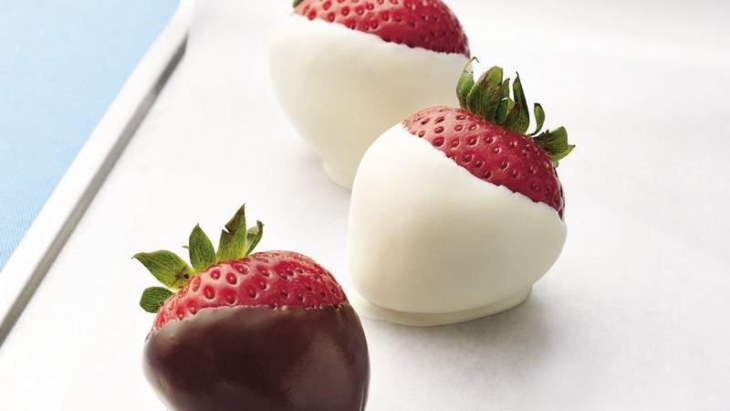 Chocolate-Dipped Strawberries recipe from Betty Crocker