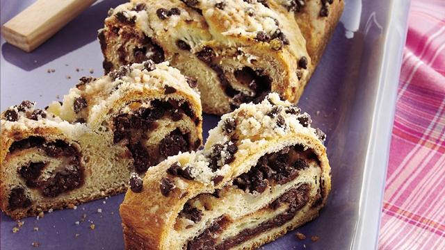Chocolate Crescent Twist