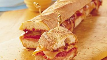 Grilled Barbecue Subs