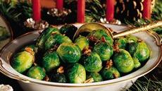 Brussels Sprouts with Bacon and Pecans Recipe