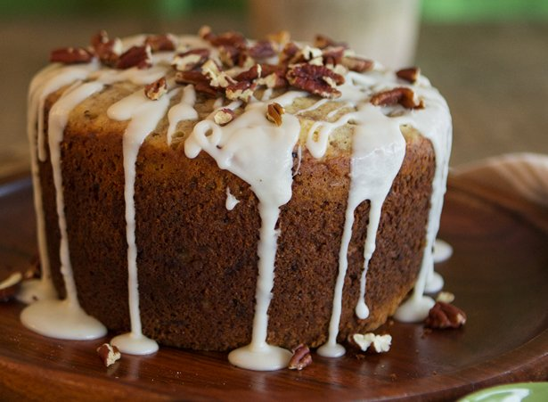 Slow Cooker Bourbon Banana Bread